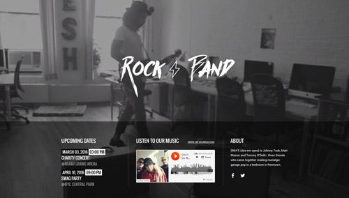 ROCK BAND MUSIC